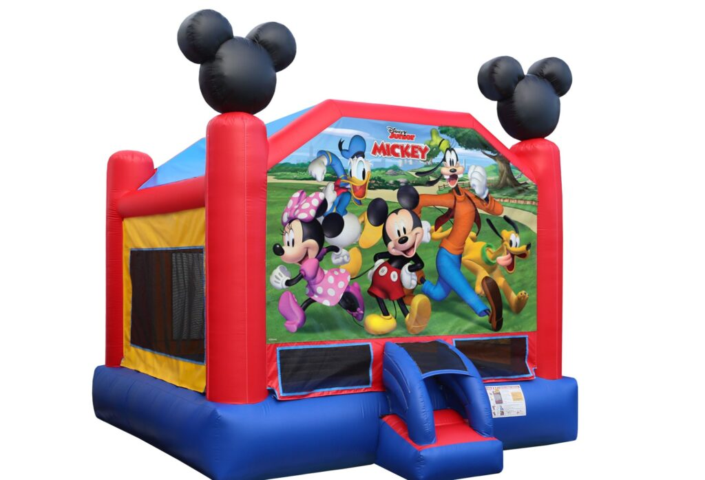 This image has an empty alt attribute; its file name is Mickey_and_Friends_Bounce_House_15-nowm-0-1024x698.jpg