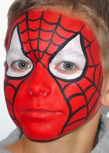 FACE 9 SPIDERMAN